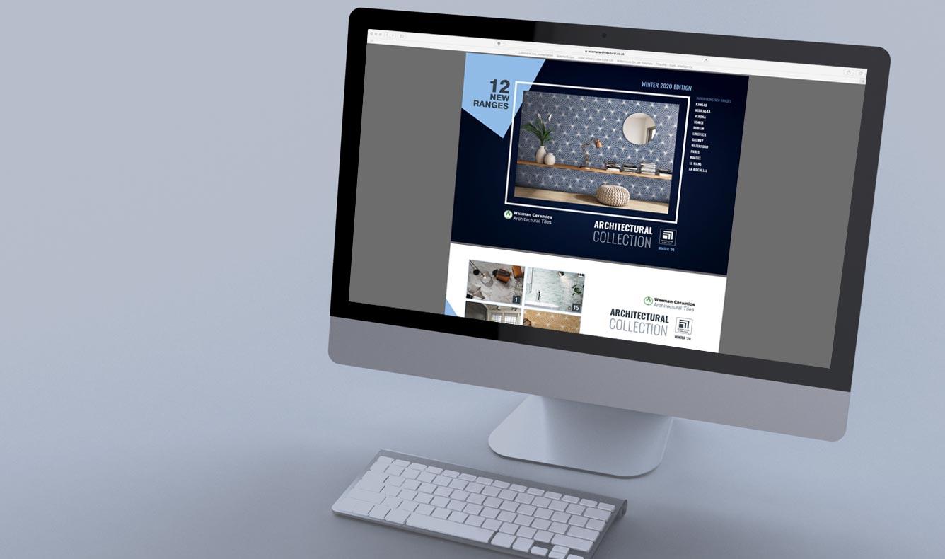 Waxman Ceramics Architectural Tiles E-Brochure Collection 2020