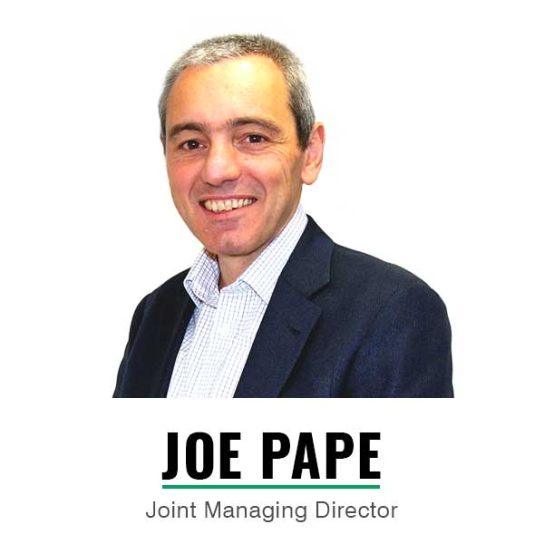 Joint Managing Director - Joe Pape
